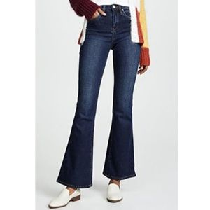 BLANK NYC Waverly High-Rise Flare Dark Jeans - 31